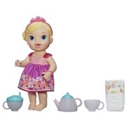 Baby Alive Lil' Sips Baby Has a Tea Party Doll - Blonde Hair