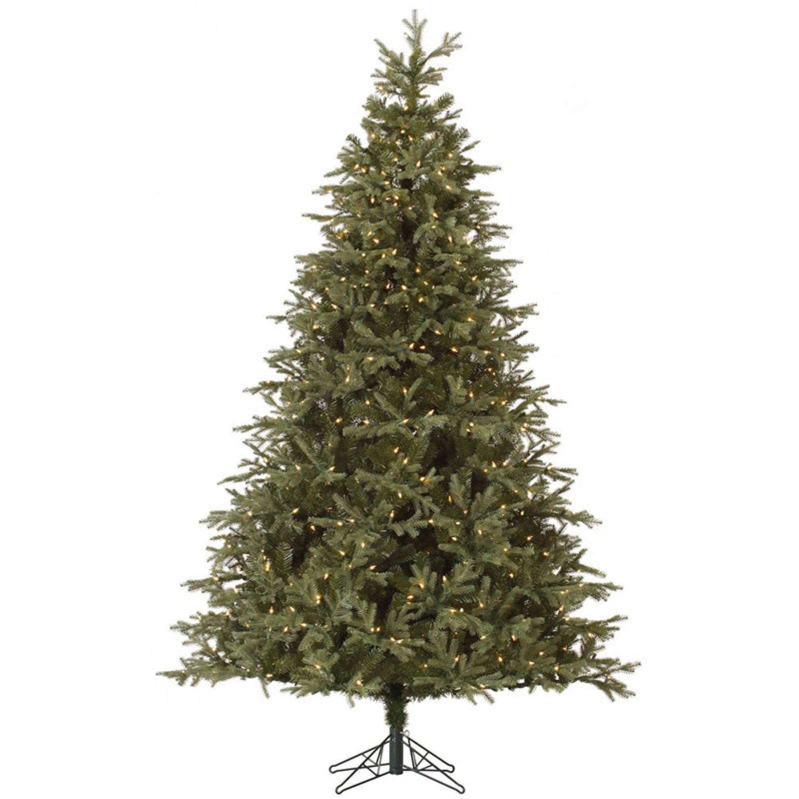 Vickerman Elk Frasier Fir Pre-lit Christmas Tree with Metal Stand