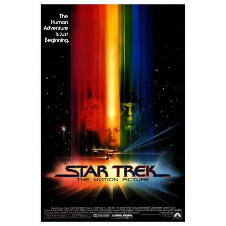 Pop Culture Graphics MOVEF7309 Star Trek - The Motion Picture Movie Poster Print, 27 x