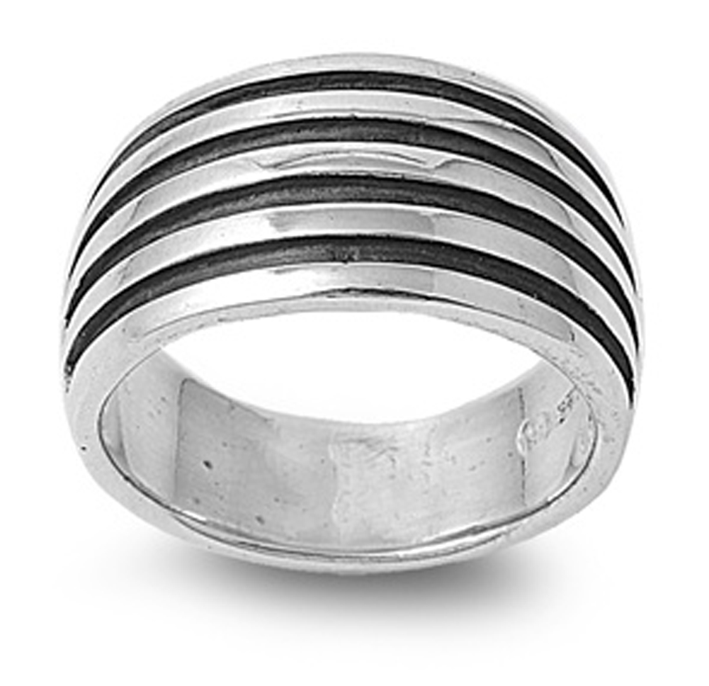 sterling silver s s oxidized ring sizes 6 7 8