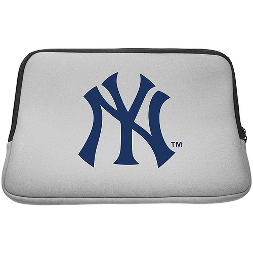 "Centon Laptop Sleeve for 15.6"" Laptops, New York Yankees"