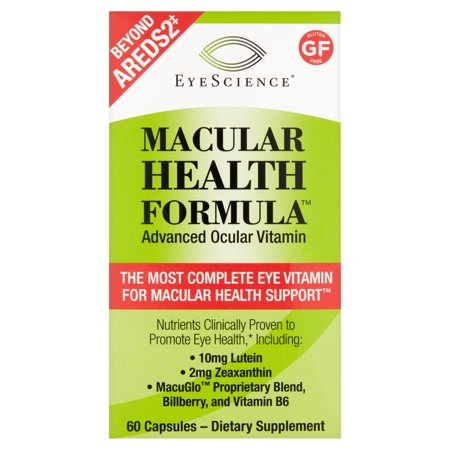 Eye Science Macular Health Formula Advanced Ocular Vitamin Capsules  60 Count