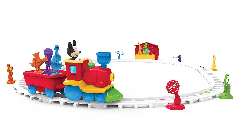 IMagicademy Tune Tracks Train Playset Musical Mickey Mouse Fun by Imagicademy