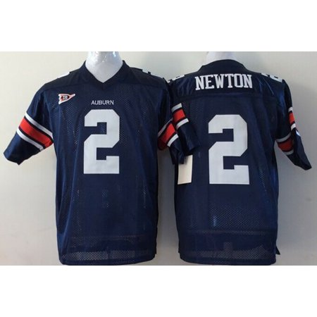 Auburn Cycling Jersey - Mens Auburn Tigers NEWTON #2 Football Jersey Blue Medium