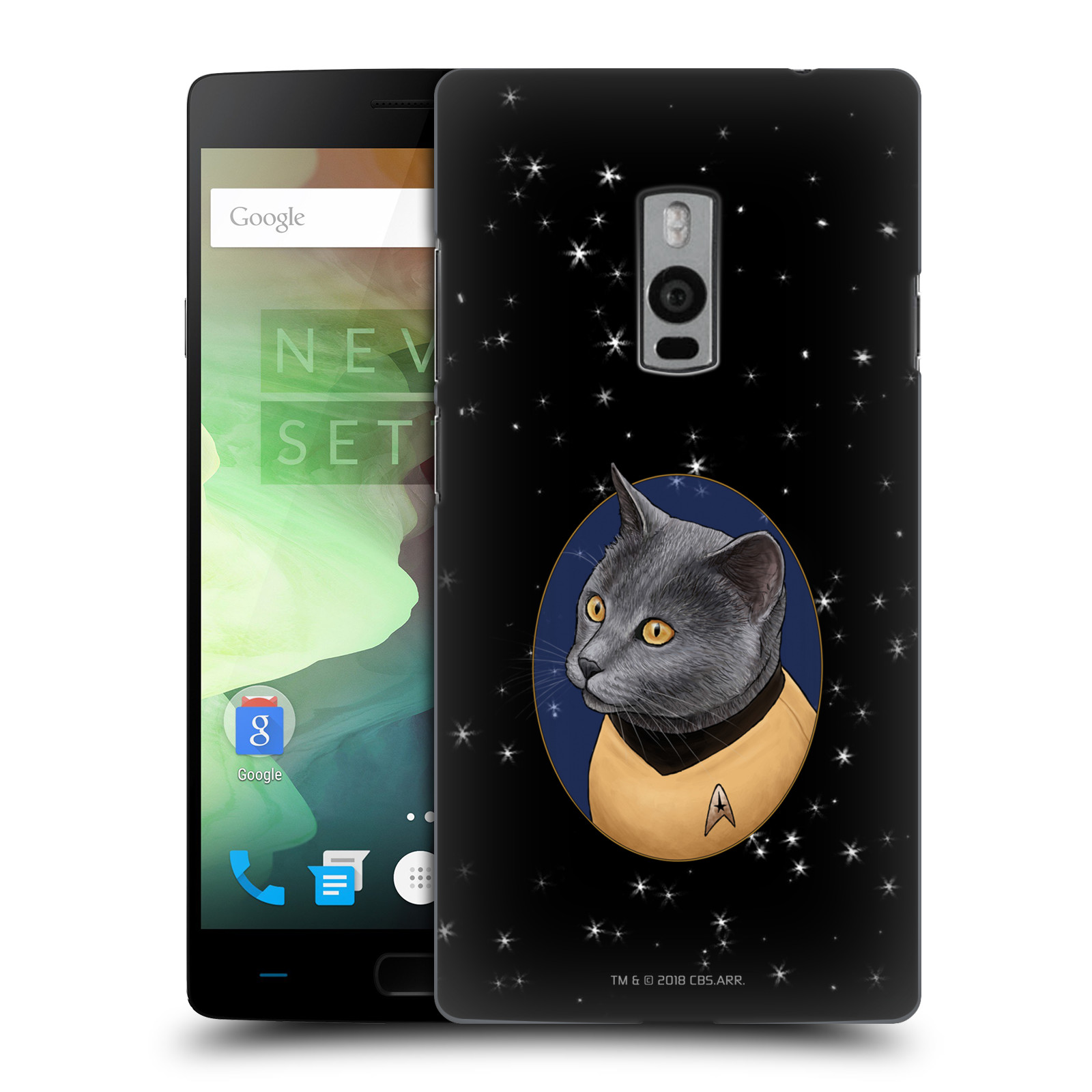 OFFICIAL STAR TREK CATS TOS HARD BACK CASE FOR ONEPLUS ASUS AMAZON