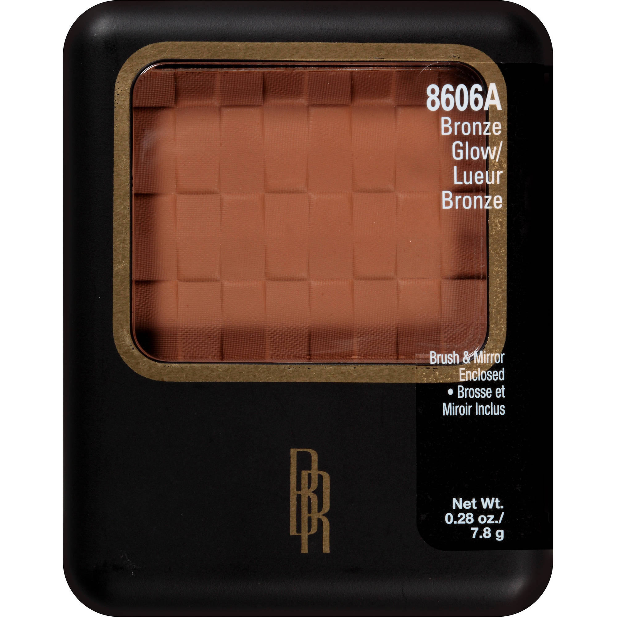 Black Radiance Pressed Facial Powder, 8606A Bronze Glow, 0.28 oz
