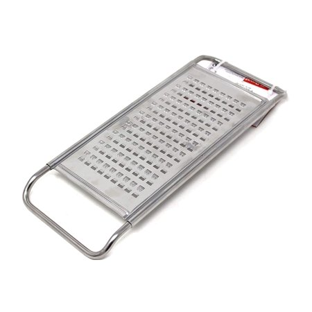Bi Directional 2 Way (Reiss Stainless-Steel Two-Way Potato Grater | Bi-Directional Edges for Efficient Grating, Dishwasher Safe, Easy to Store Horizontal Shredder, For Potatoes, Chocolate, Cheese, Vegetables, and More)