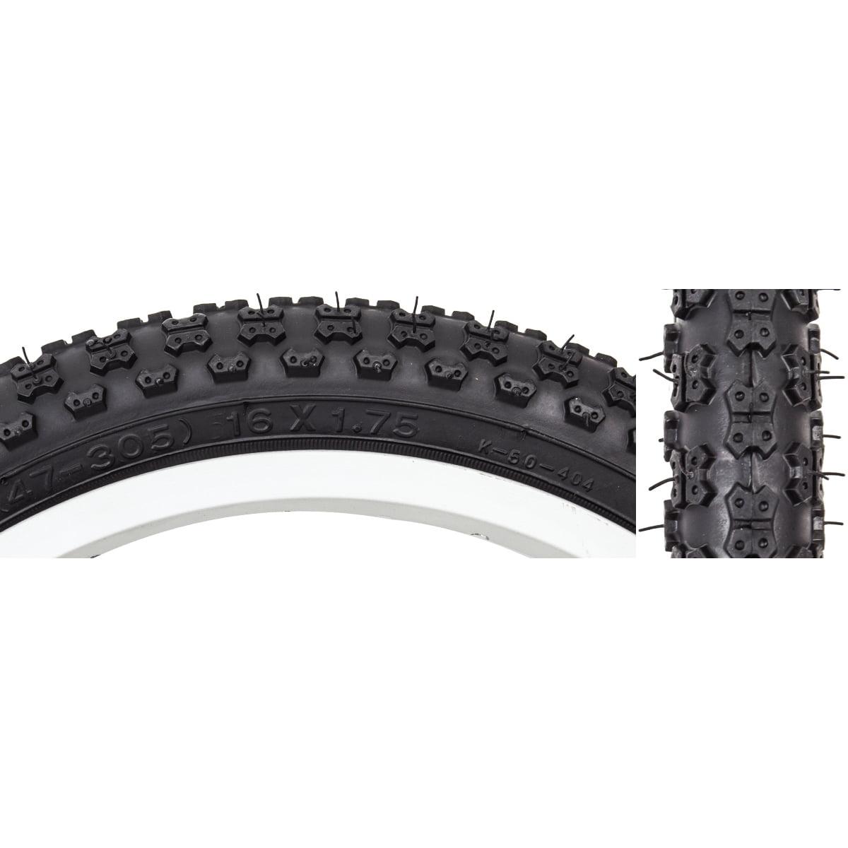 Sunlite Tire 16X1.75 Black/Black Mx3 K50