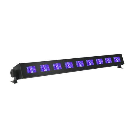 UV LED Black Light Bar - Super Bright High Output Ultraviolet LEDs - 9x3W - 27 Watts of Black Light