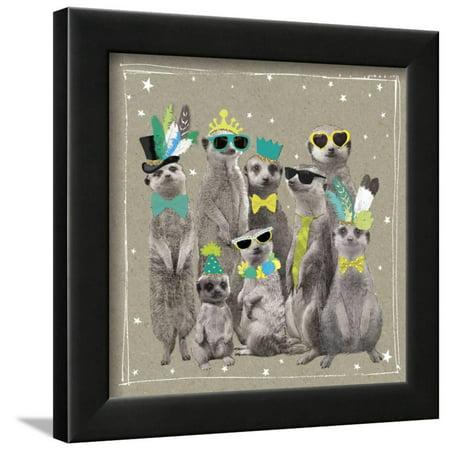 - Fancy Pants Zoo I Framed Print Wall Art By Hammond Gower
