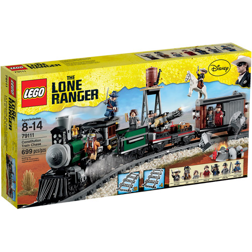Lego Lone Ranger Constitution Train Chase Play Set by LEGO Systems, Inc.