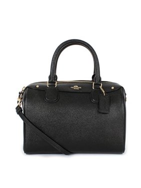 e9947fcd923f Product Image coach crossgrain leather mini bennett crossbody satchel  f57521 black