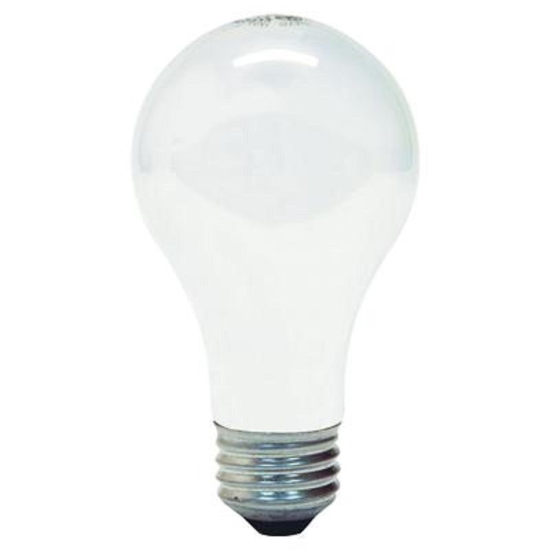 GE 97496 A19 Soft White Standard Light Bulb E26 Base 60 Watt (2 Packs Of