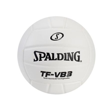 Spalding WC721668 TF-VB5 Composite Volleyball, Orange, White with Silver