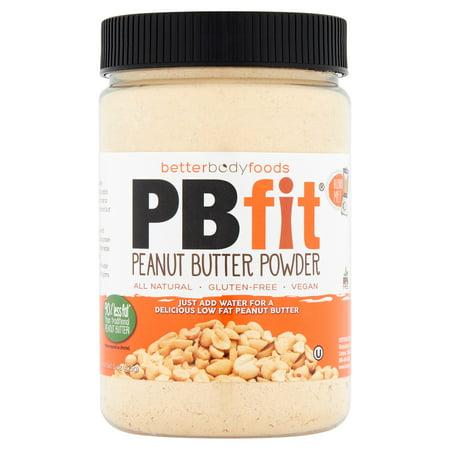 (6 Pack) PBfit All-Natural Peanut Butter Powder, 8 oz Low Sodium Peanut Butter