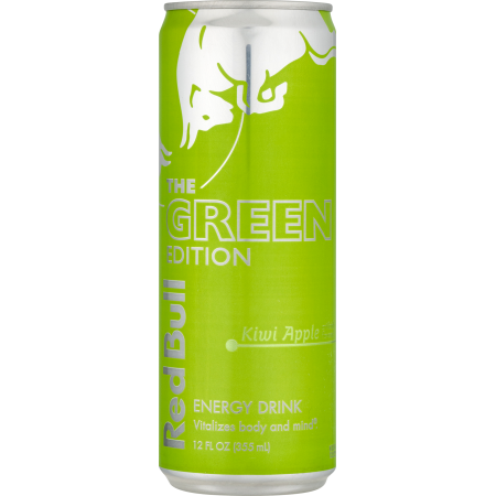 Red Bull The Green Edition Energy Drink, Kiwi Apple, 12 Fl Oz, 1 Count