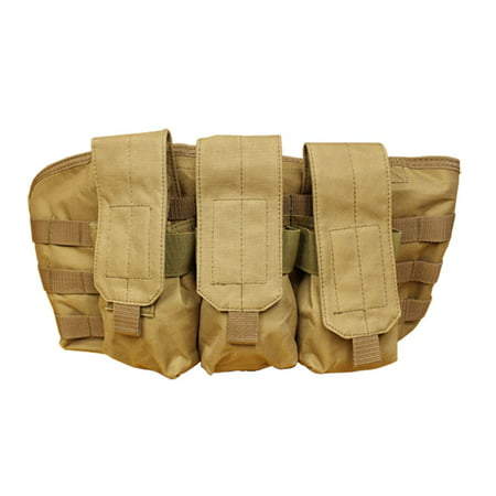 TAN-Molle Golem Chest Rig Tactical Pouch Mag Holder Pouches Rig Vest Mag