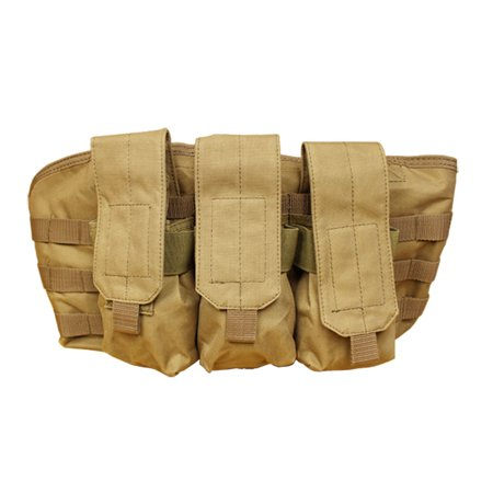 TAN-Molle Golem Chest Rig Tactical Pouch Mag Holder Pouches Rig Vest Mag Carrier