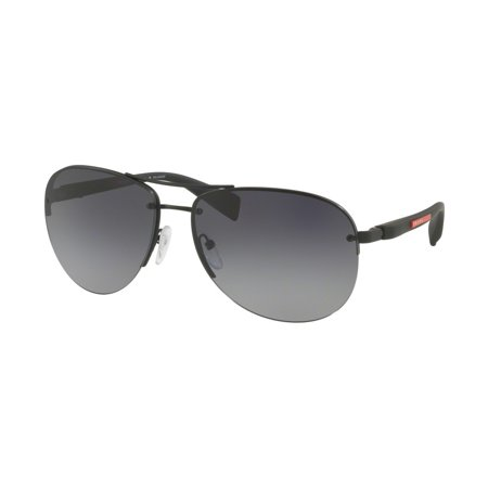 Sunglasses Prada Linea Rossa PS 56 MS DG05W1 BLACK (Prada Linea Rossa Sunglasses)