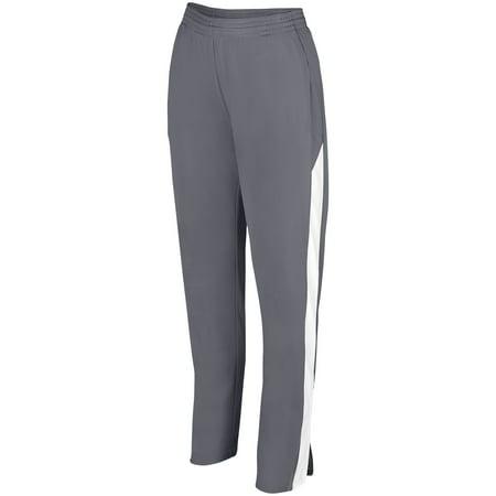 Augusta Sportswear S Womens Medalist Pant 2 0 Graphite White