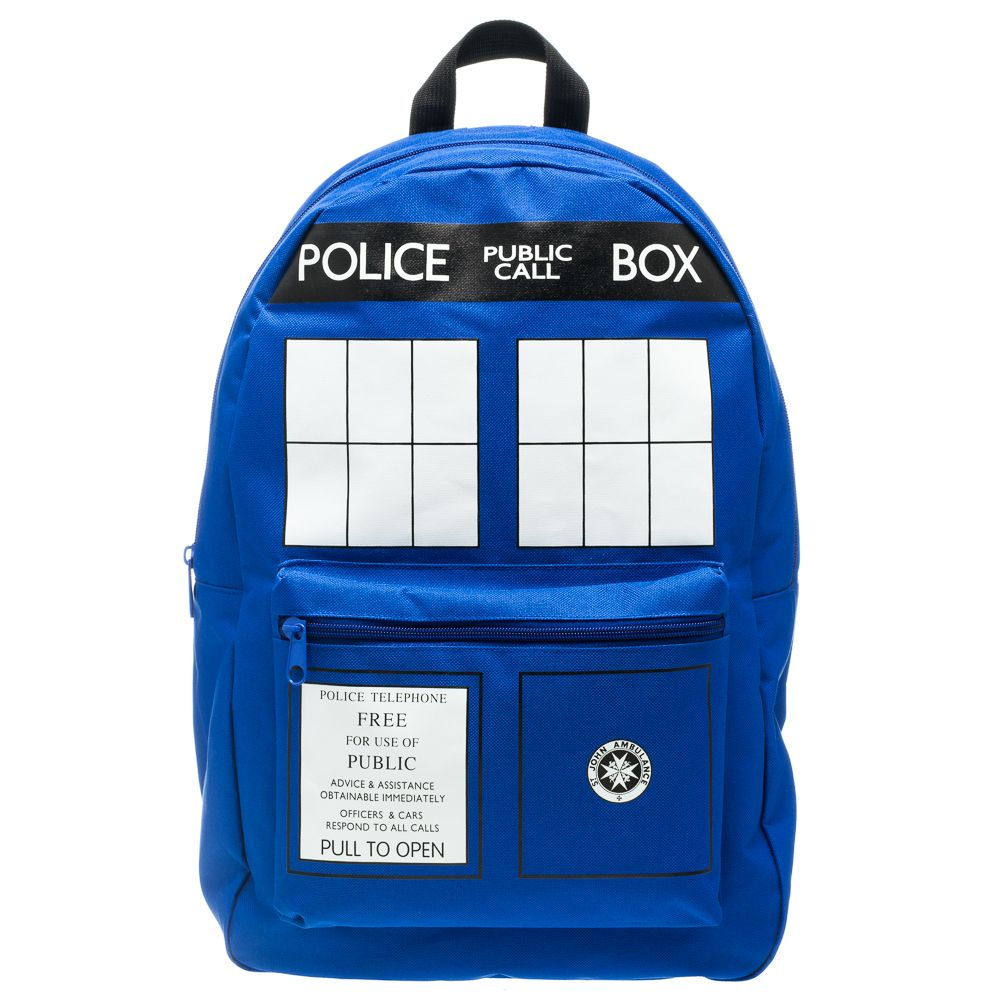Bioworld Doctor Who TARDIS Basic Backpack