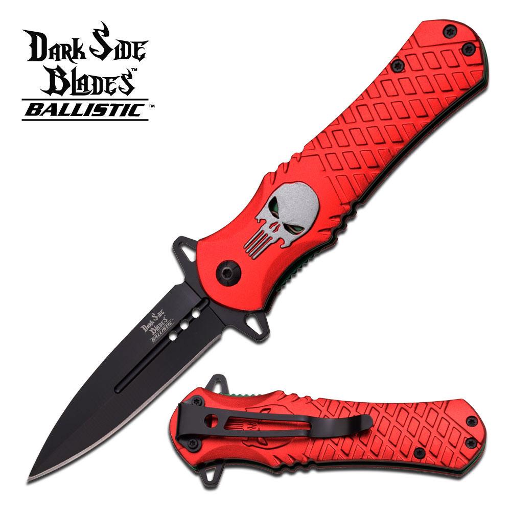 Dark Side Blades Spring Assisted Knife