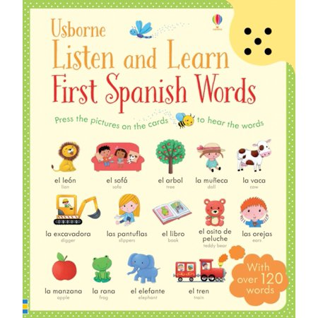 Listen and Learn First Spanish Words (Listen & Learn) (Cards) (Halloween Words In Spanish)