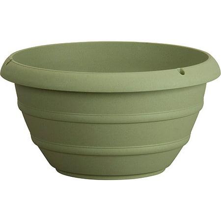 Akro Mils MSH1200B15 12 in Olive Green Marina Hanging Basket