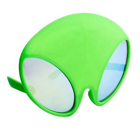Party Costumes - Sun-Staches - Green Alien Cosplay sg3288 (Party City Alien Costume)