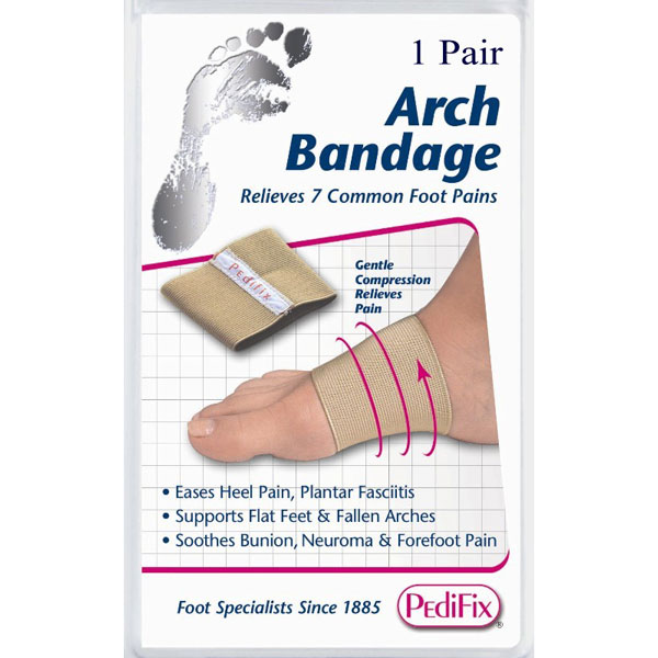 Pedifix Arch Bandage/Pair Small
