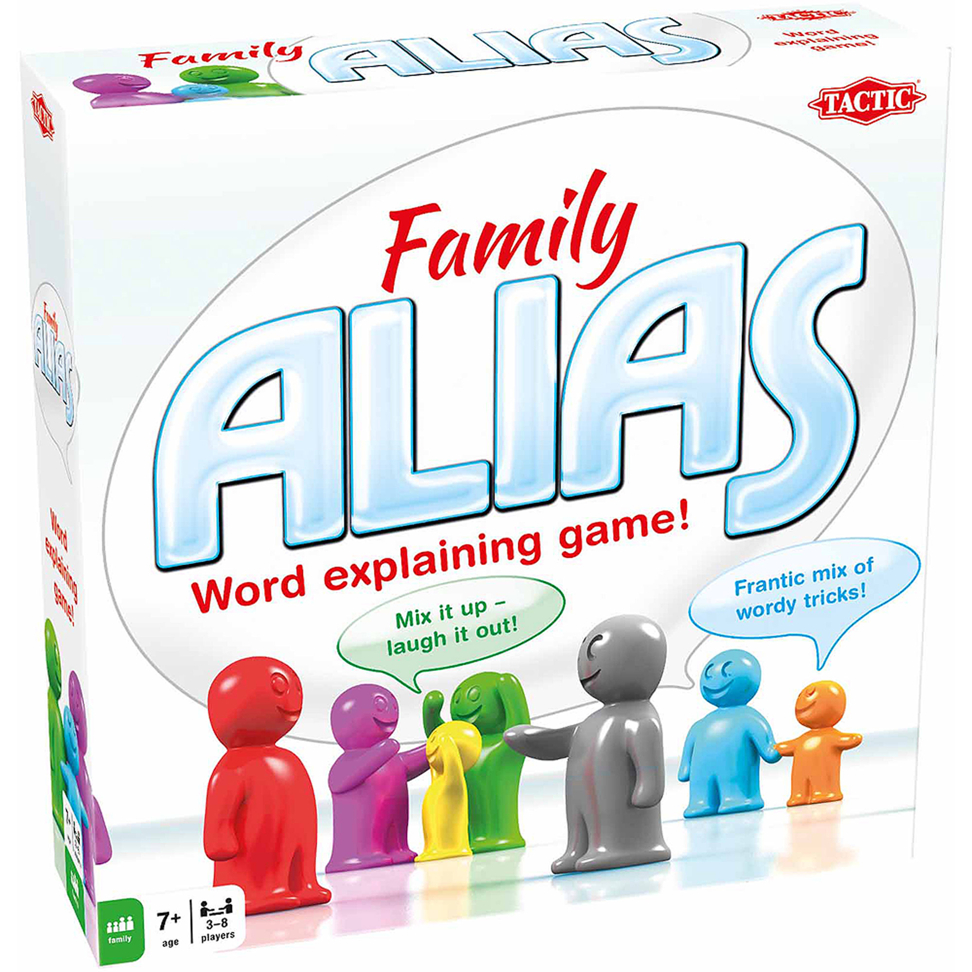 Tactic Games Alias Family Board Game