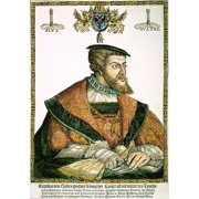Charles V (1500-1558). Nholy Roman Emperor (1519-1556) And King Of Spain (1516-1556). Woodcut  1532  By Christoph