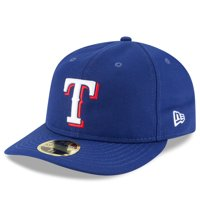 finest selection 3ffb6 588e9 Product Image Texas Rangers New Era Fan Retro Low Profile 59FIFTY Fitted Hat  - Royal