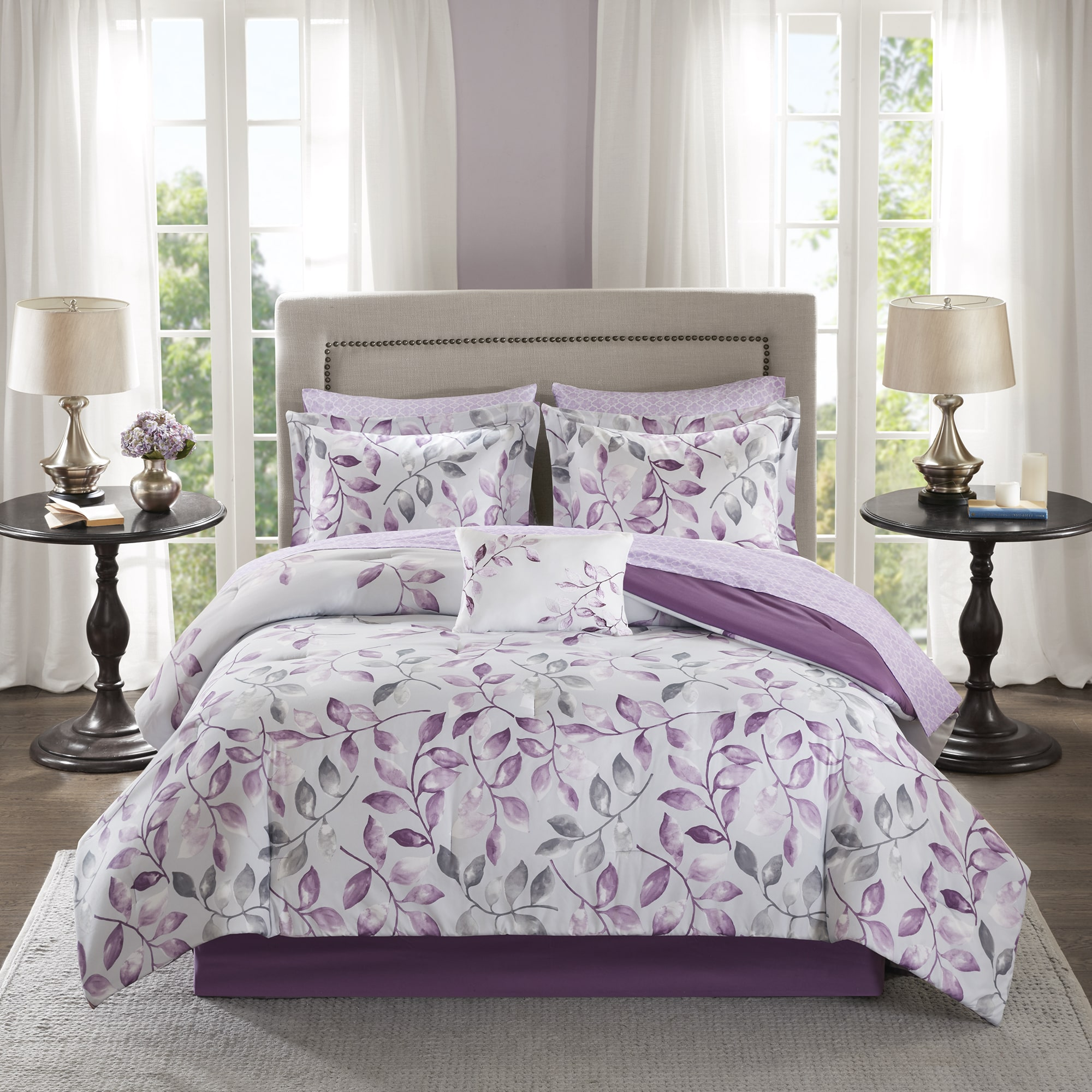 Home Essence Rowan Ultra Soft Microfiber Complete Comforter Set