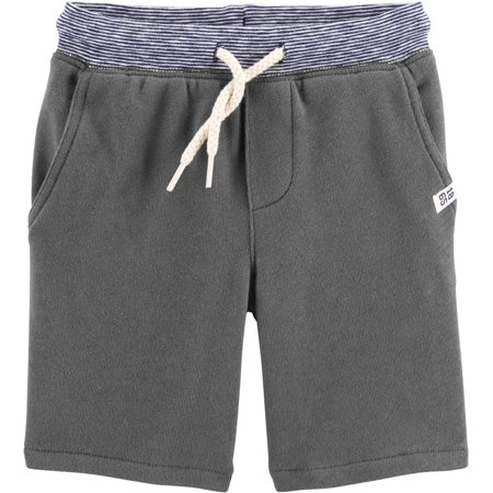 Carters Toddler Boys Solid Knit Pull-on Shorts Carters Toddler Boys Pull