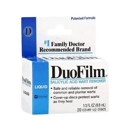 how to use duofilm wart remover