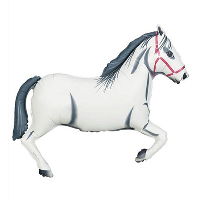 Funny Party Hats 43 inch Horse Helium Shape