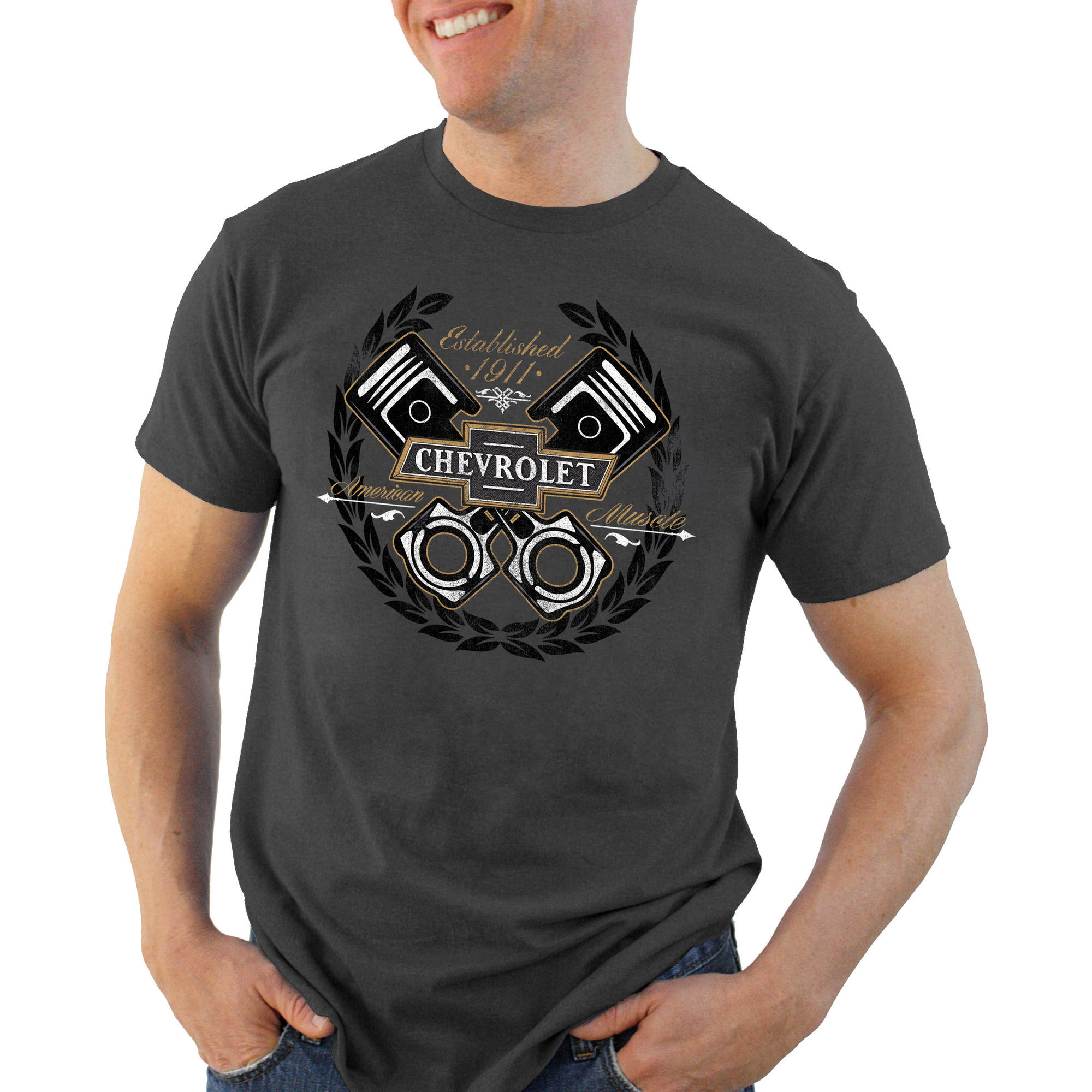 Chevy All Power Big Men's Graphic Tee