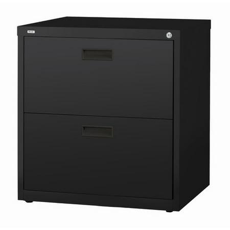 hl1000 series 30 inch wide 2 drawer lateral file cabinet black. Black Bedroom Furniture Sets. Home Design Ideas