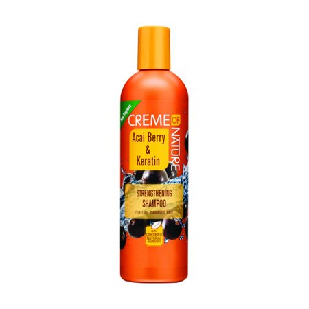 Mens Stamp (Creme Of Nature Acai Berry Keratin Strengthening Shamp)