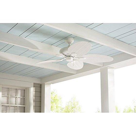 Harbor breeze 52 in tilghman matte white outdoor ceiling fan harbor breeze 52 in matte white tilghman indoor outdoor ceiling fan aloadofball Gallery