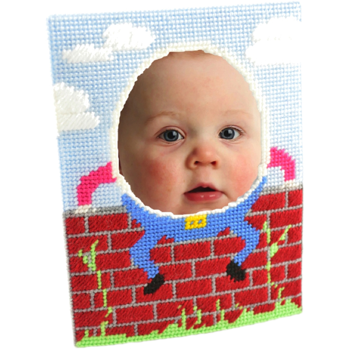 "Humpty Dumpty Framous Plastic Canvas Kit-8""X5.9"" 10 Count"