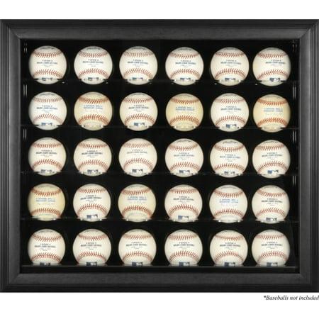 Fanatics Authentic Black Framed 30 Baseball Display Case - No