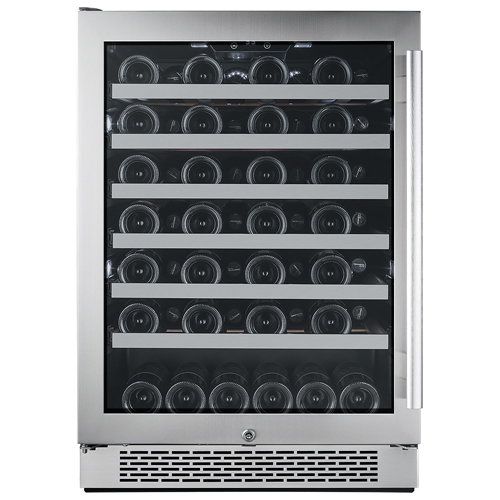 Avallon 54 Bottle Built-In Wine Cooler - Left Hinge