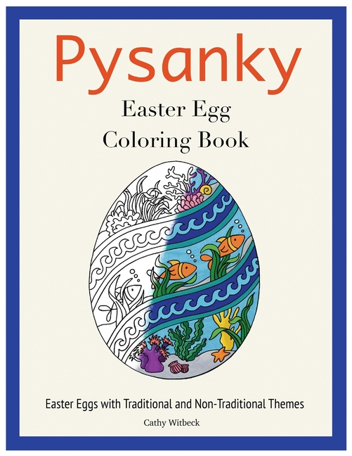 Pysanky Easter Egg Coloring Book : Easter Adult Coloring Book (Paperback) -  Walmart.com - Walmart.com