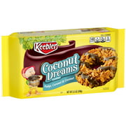 Keebler Coconut Dreams Cookies, Fudge, Caramel & Coconut, 8.5 Oz