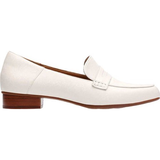 02c334b385e Part of the Clarks Collection Cushion Plus technology OrthoLite footbed  Textile lining and sockliner Steel shank. Women s Clarks Keesha Cora Penny  Loafer