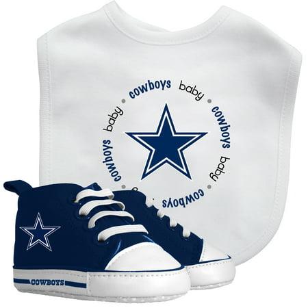 NFL Dallas Cowboys Bib & Prewalker Baby Gift - Dallas Cowboy Baby Stuff