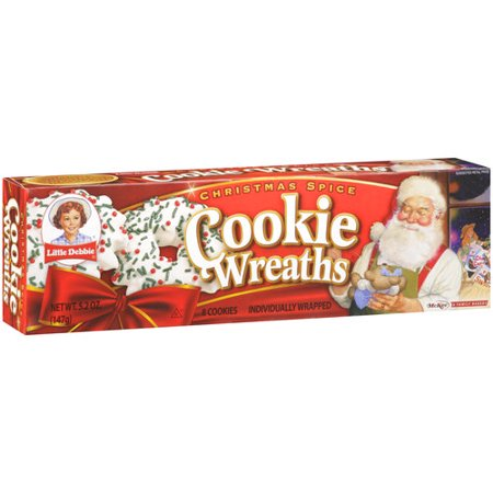 Little Debbie Snacks Wreath Cookies 8 Ct
