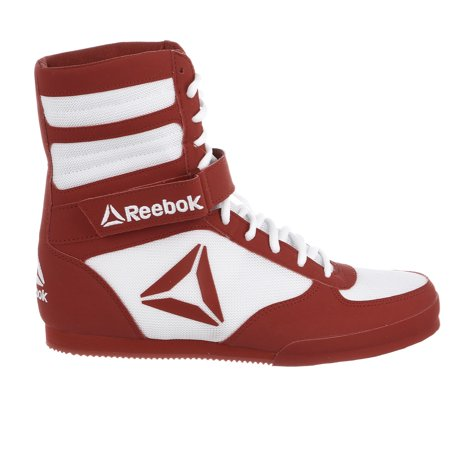 Adidas Boxing Shoes (reebok boxing boot sneakers - white/excellent red, 10 m us - mens -)
